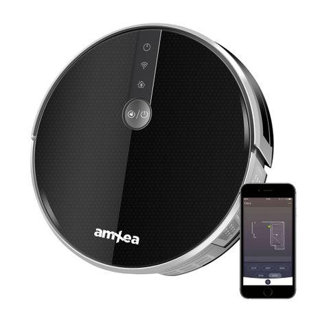 Aspirator robot amXea LIG-E30-B Negru-Gri cu tehnologie Wi-fi – Review detaliat